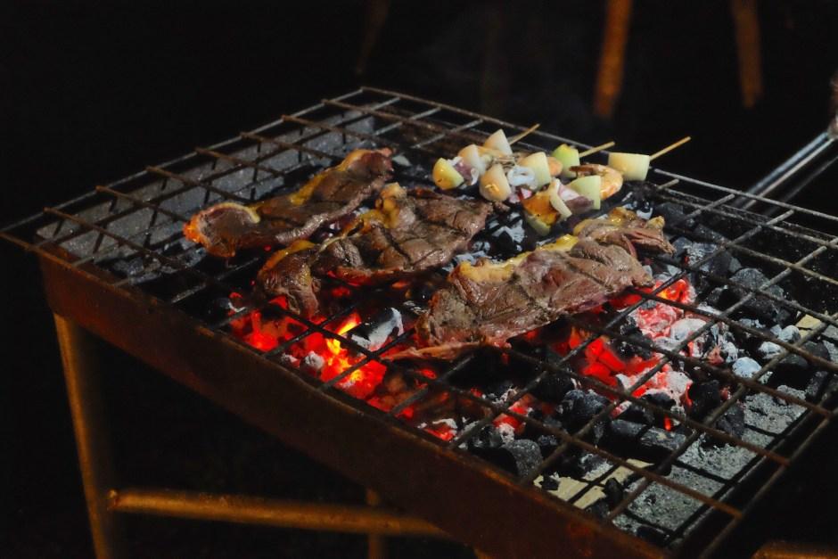 BBQ sirloin steak