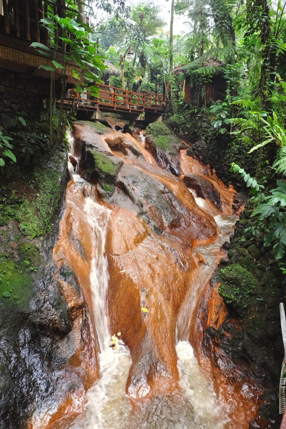 Waterfall at Kampung Daun