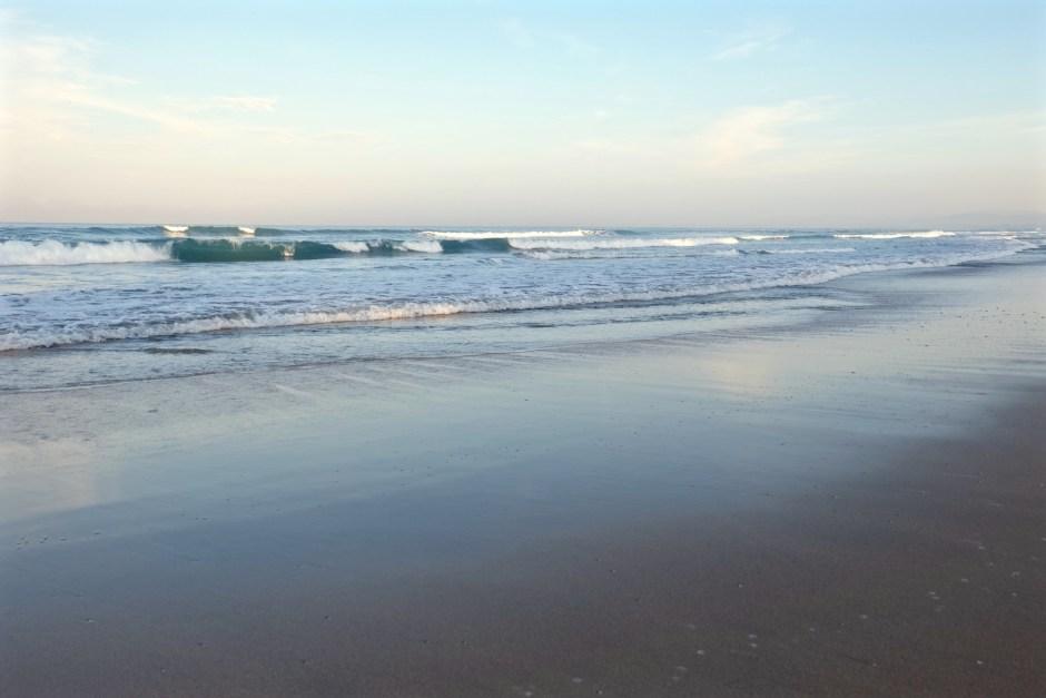 Morning in Kuta Beach