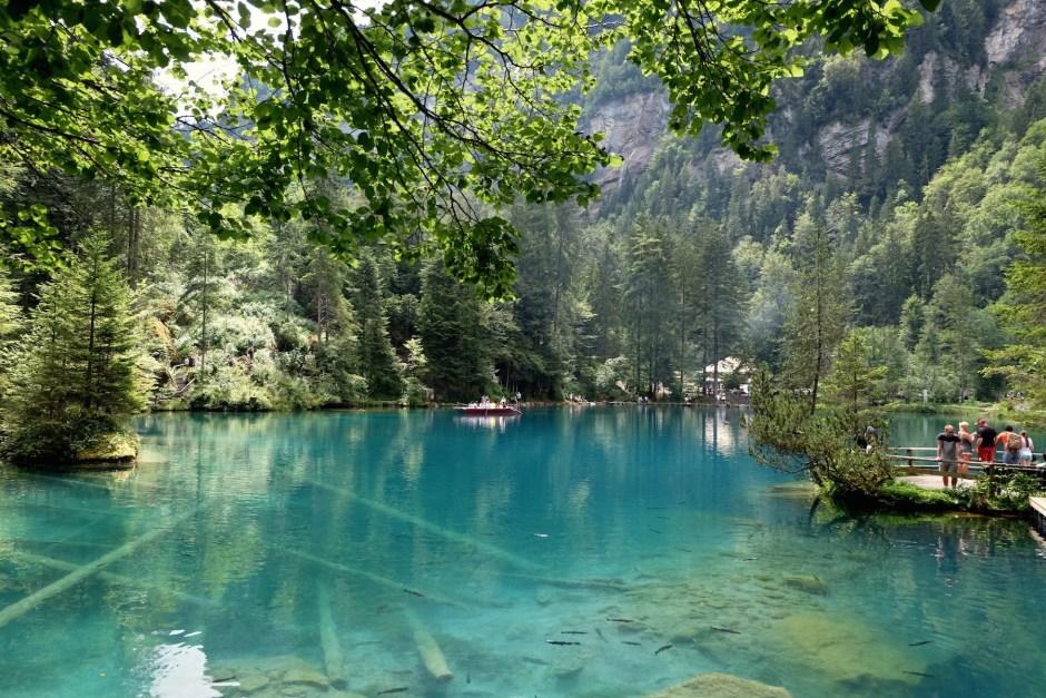 Lake Blausee, Blue Lake