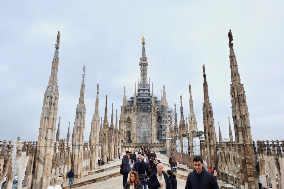 Duomo Cathedral Rooftop