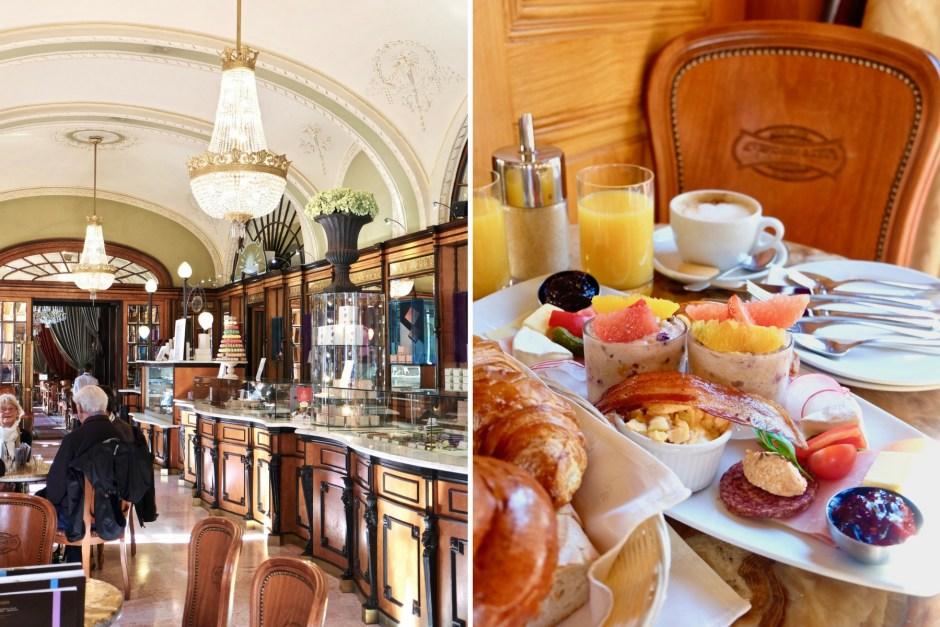 Cafe Gerbeaud Breakfast