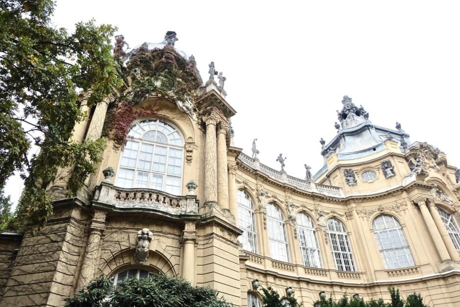 City Park Vajdahunyad Castle Budapest