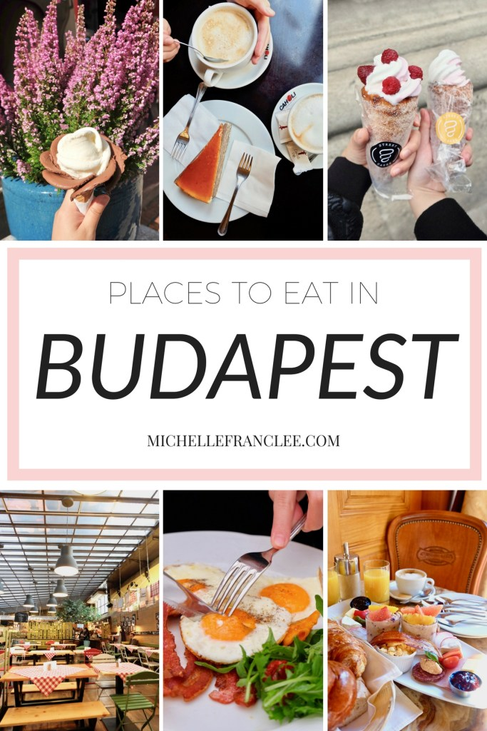 Food guide in Budapest