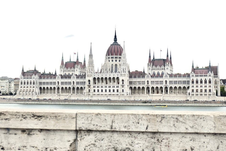 Hungarian Parliament from Buda Side