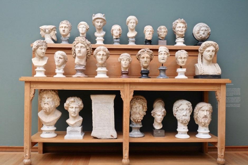 Head Statue Carlsberg Museum