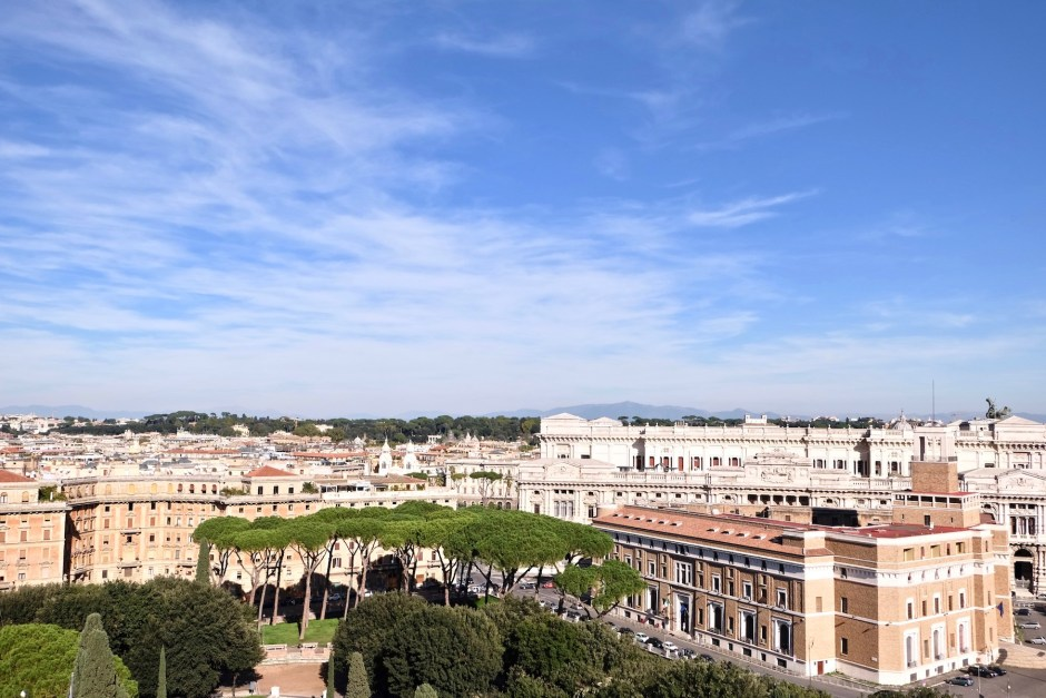 View from Castle of Angels Rome