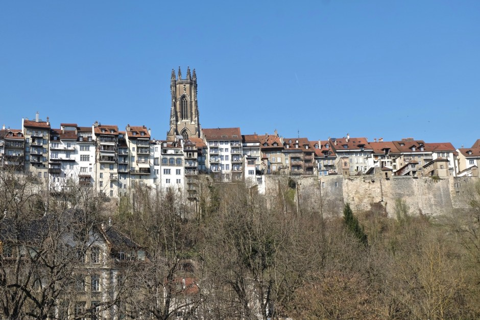 Cathedral Fribourg Swiss