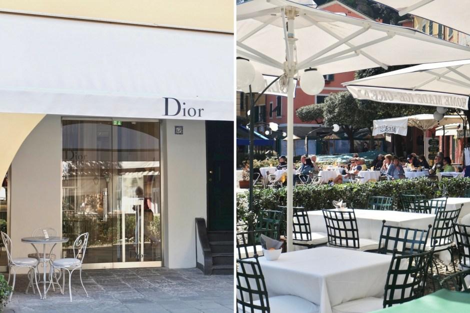 Dior Portofino Shopping