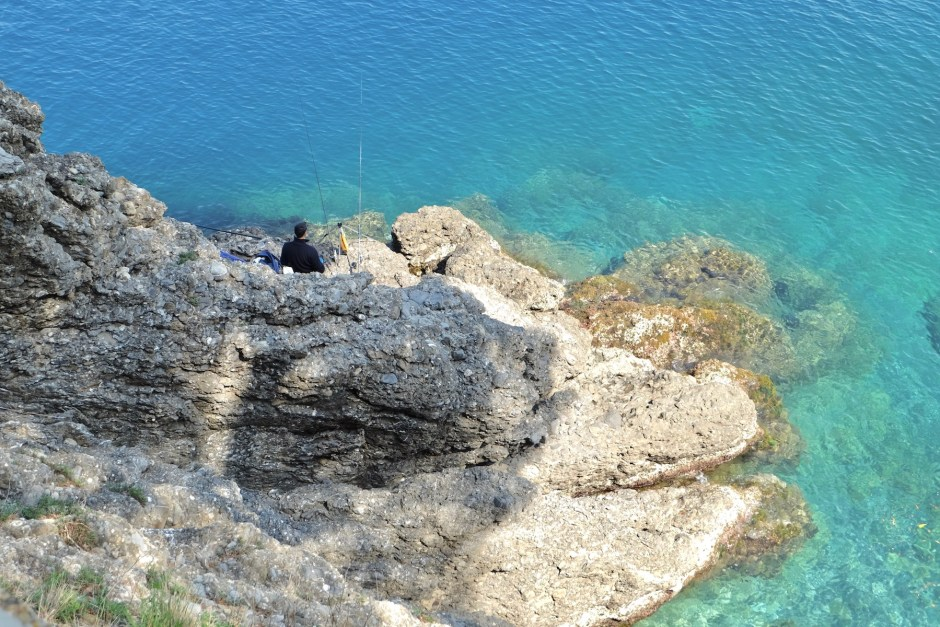 Fishing ligure sea ligurian