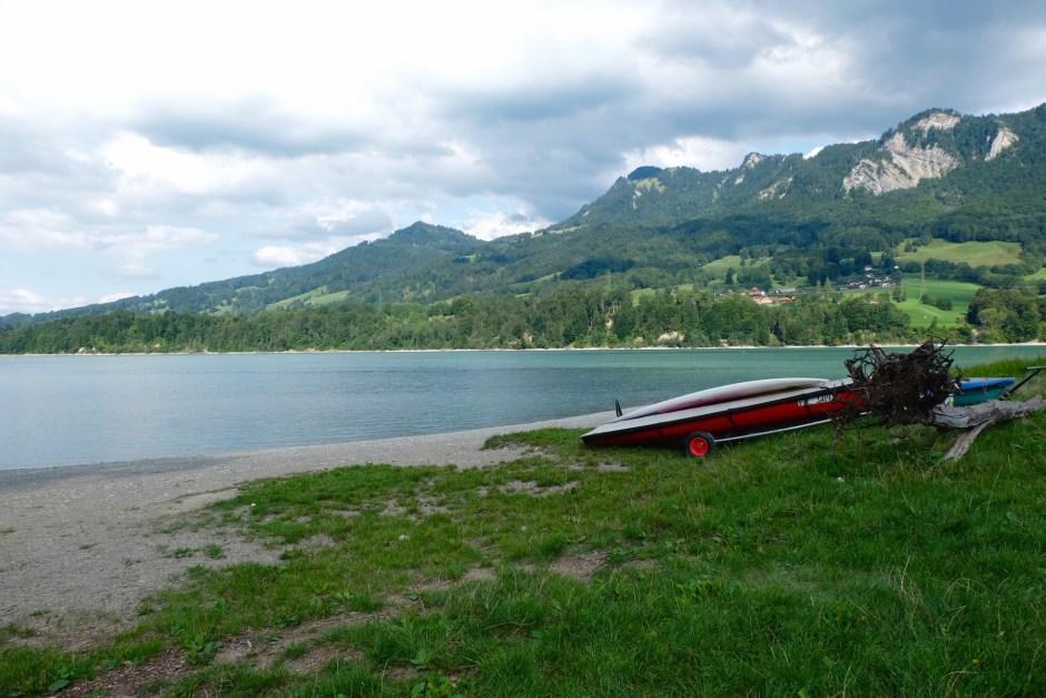 Lake Gruyere Morlon Switzerland
