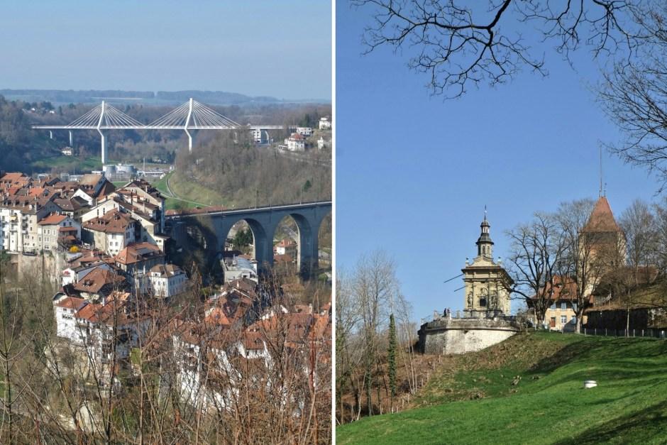 Loretto Chapel Fribourg Swiss Bridge