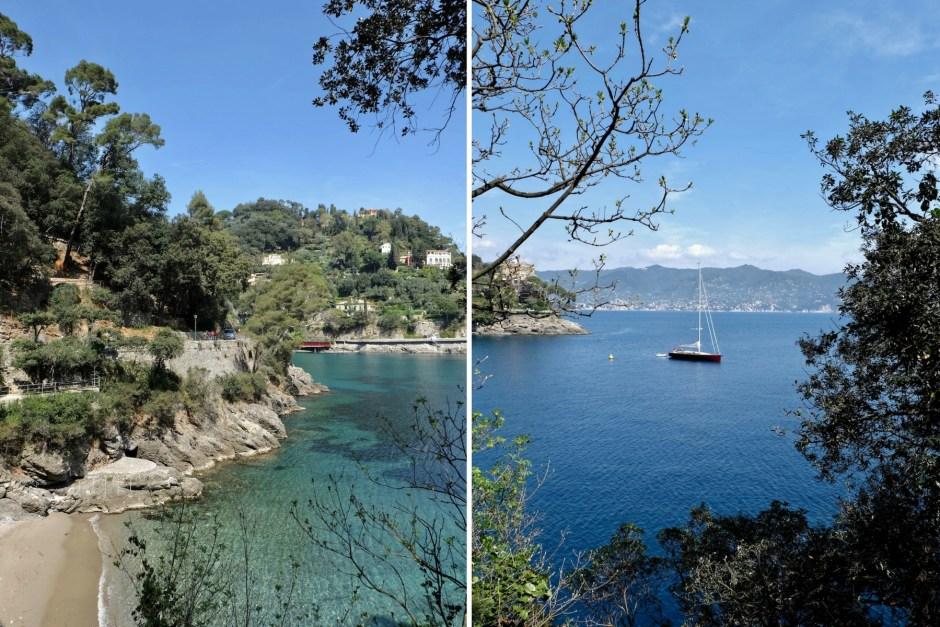 Paraggi Bay Liguria Sea Italy