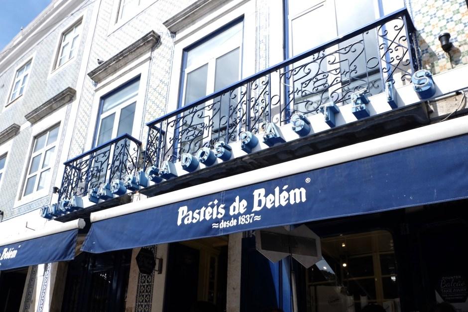 Pasteis de Belem Best Porugese tart Lisbon