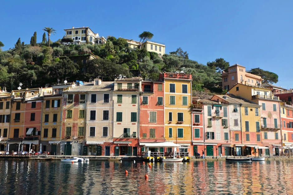 Portofino Houses italy sea