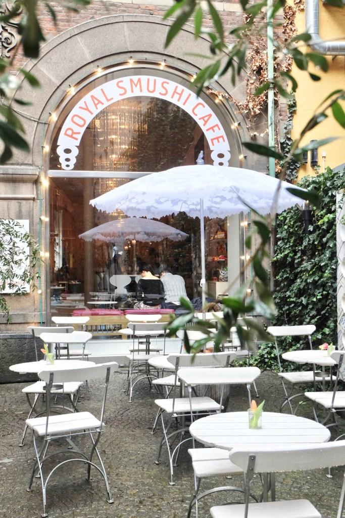 Royal Smushi cafe Outdoor copenhagen