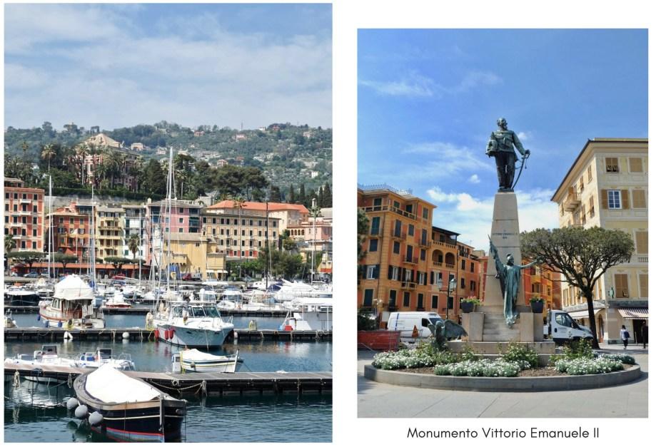 Santa Margherita Ligure Monument Vittorio Emanuele