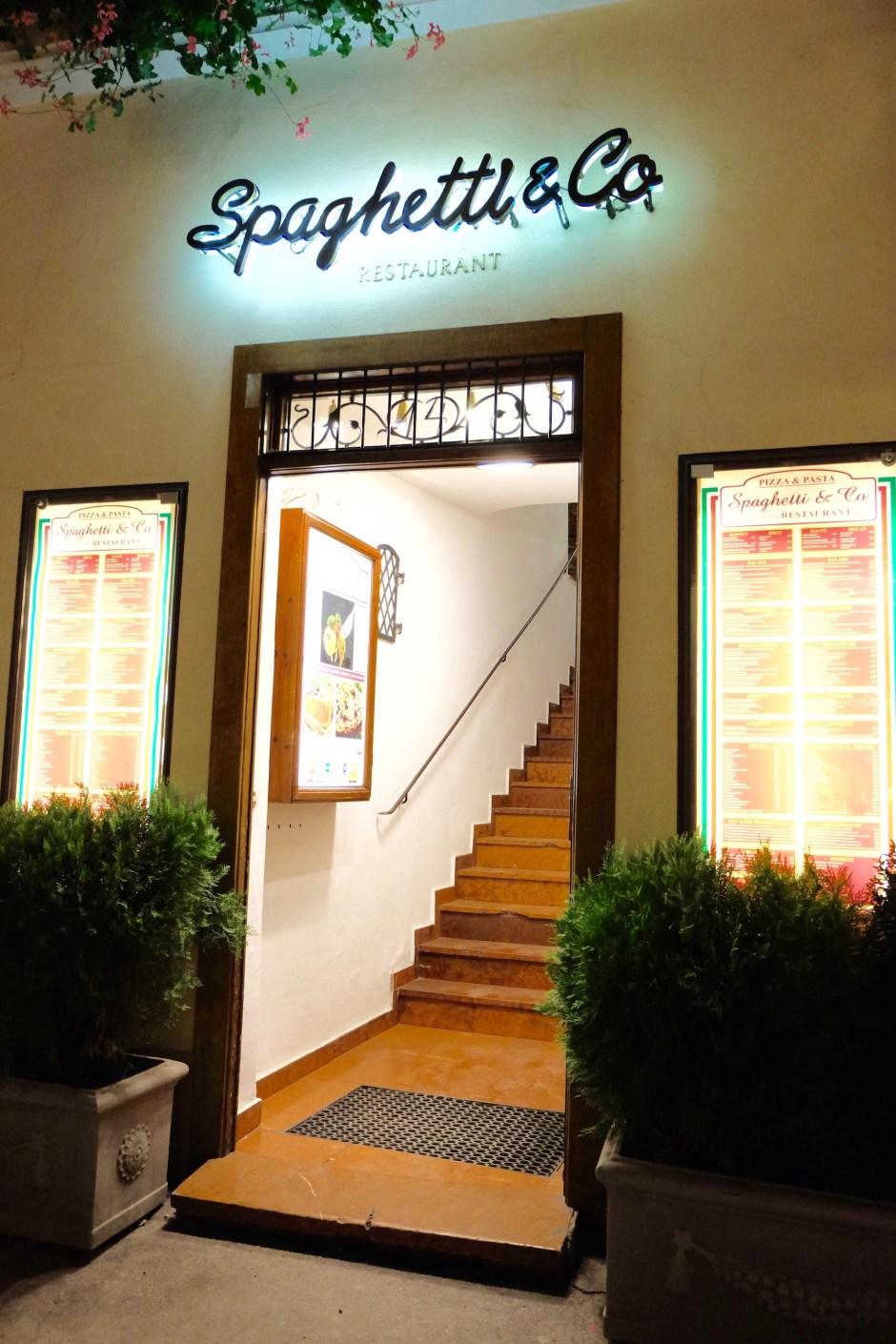Spaghetti & Co. Restaurant Salzburg Austria
