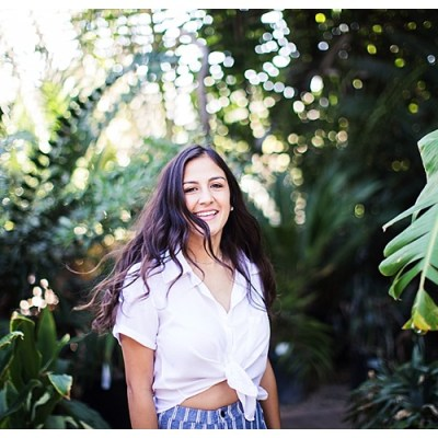 Riverside Senior Pictures at UCR Botanical Gardens
