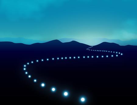 light on the journey
