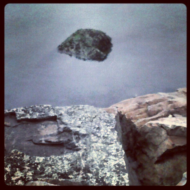 Rocks & water #NYC #Bayside #Queens #Rocks #water #seascape