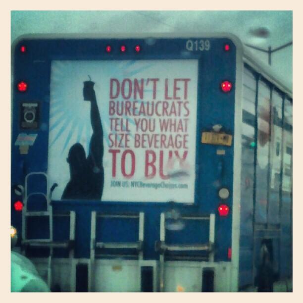 Hear that Bloomberg ?  #NYC #sodaban #Pepsi #truck