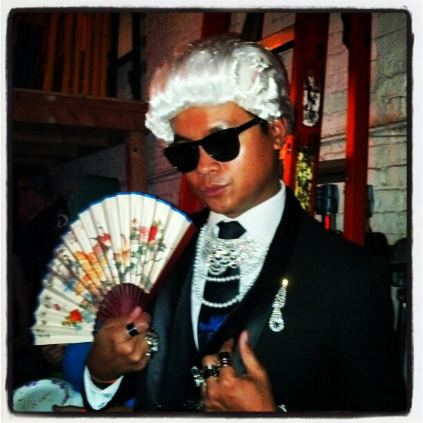 Karl Lagerfeld #Chanel #halloween #resourcemagazine #awesome #party