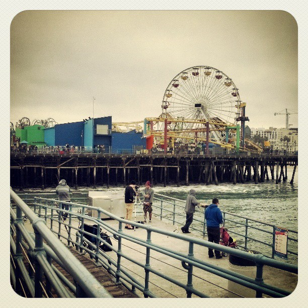 Santa Monica Pier, the Coney Island of Los Angeles #photography #awesome #fun