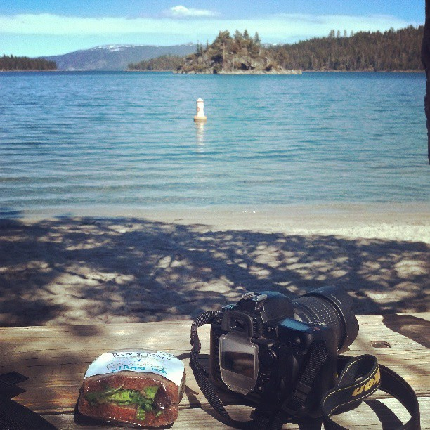 Lakeside Lunch #laketahoe #California #awesome #photography