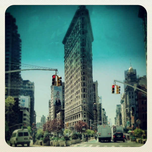 Flatiron Building #newyork #architecture #photography #landmark