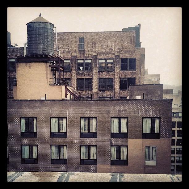 Studio window view #newyork #studio #photography