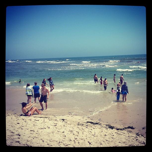 Ponquogue Beach #hamptons #4thofjuly #beach #longisland