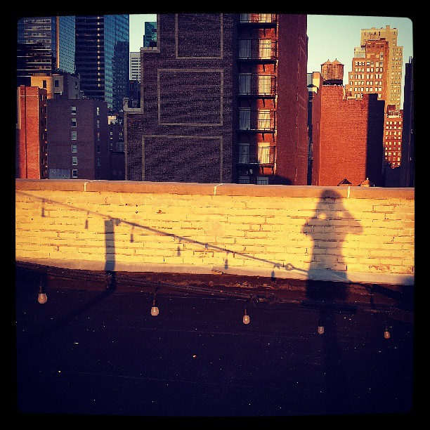Rooftop Shadow #newyork #photography #asmpaspp13 #cityscape
