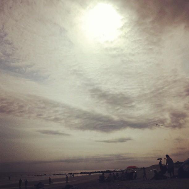 Sunset over Long Beach #longisland #newyork #beauty #clouds #photography