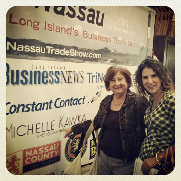 Maybe you'll run into an old friend  at Trade Nassau ! #tradenassau #friends #family #love #longisland #mom