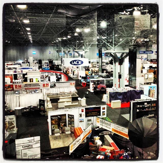 Photo Plus Expo Floor #PPE2013 #photo