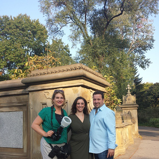 It's a wrap ! #engagement #photos #centralpark