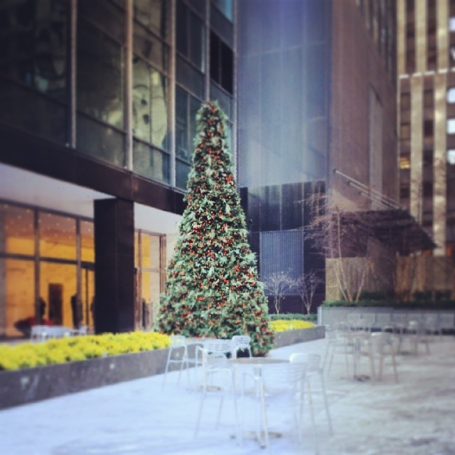 Christmas in Midtown #Christmas #newyork #tree #holidays #festive