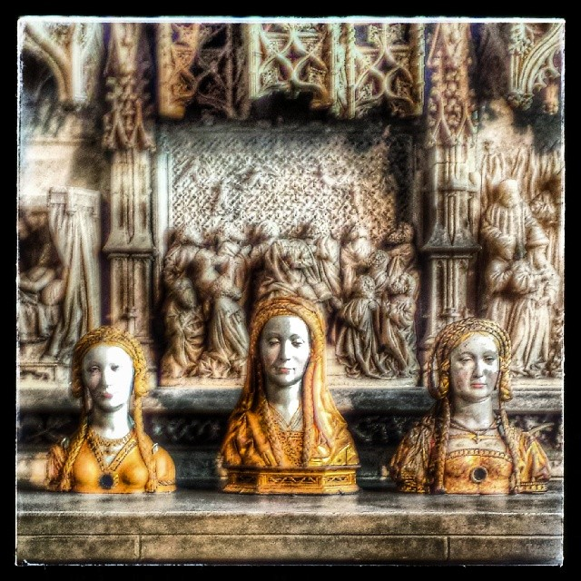 Three Saints #cloisters #metmuseum #newyork #medieval #saints #europe #sculpture #culture #catholic