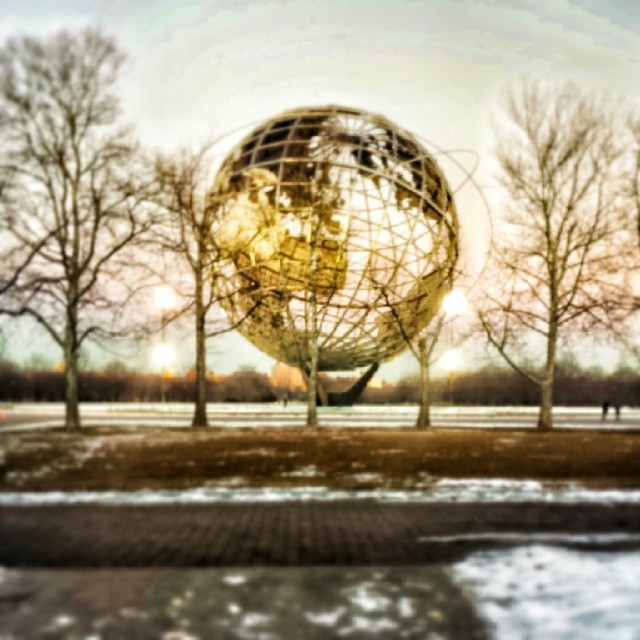 The Unisphere #queens #newyork #flushing #park #landmark #globe #world #nyc