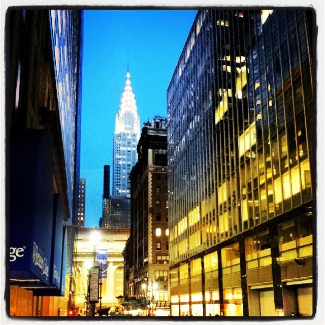Chrysler Building #landmark #newyork #architecture #artdeco