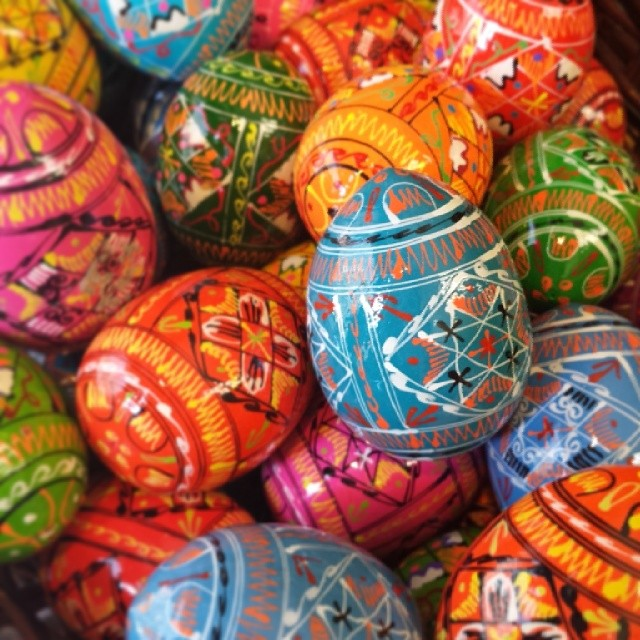 Ukrainian Easter Eggs #eastereggs #easter #decoration #decorativearts #art #color #beauty