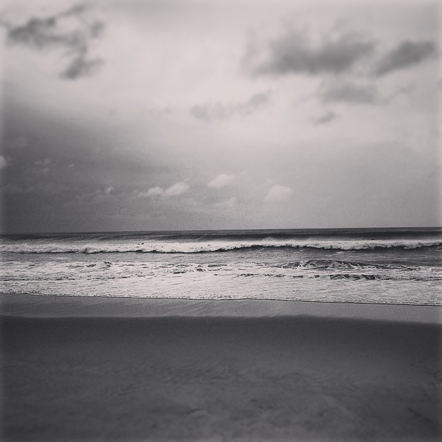 High surf, Road K, Hampton Bays #arthur #storm #surf #longisland #beach #newyork