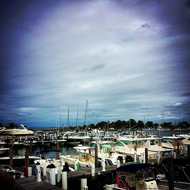 The Marina #hamptonbays #longisland #peconicbay #lunch #boats #fall