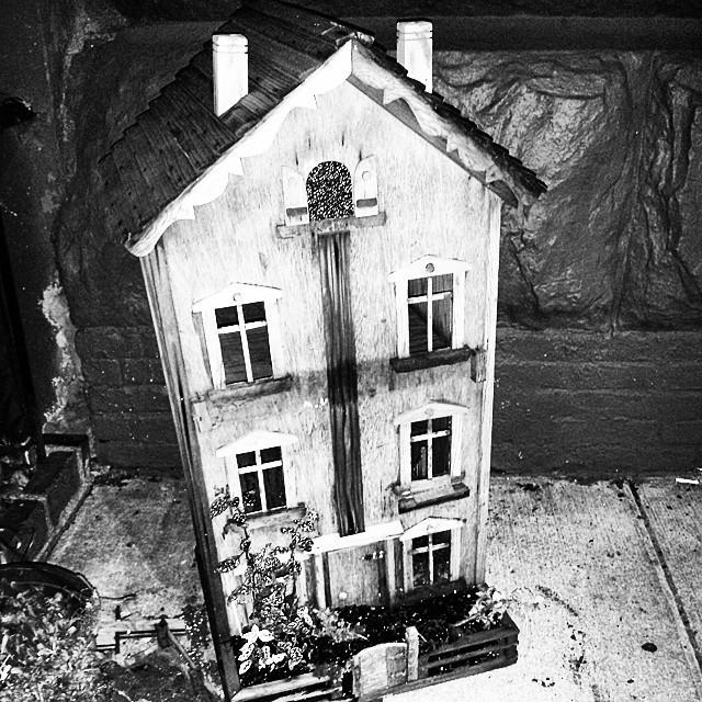 Doll House, Greenwich Village #bwphotochallenge #newyorkcity #newyork