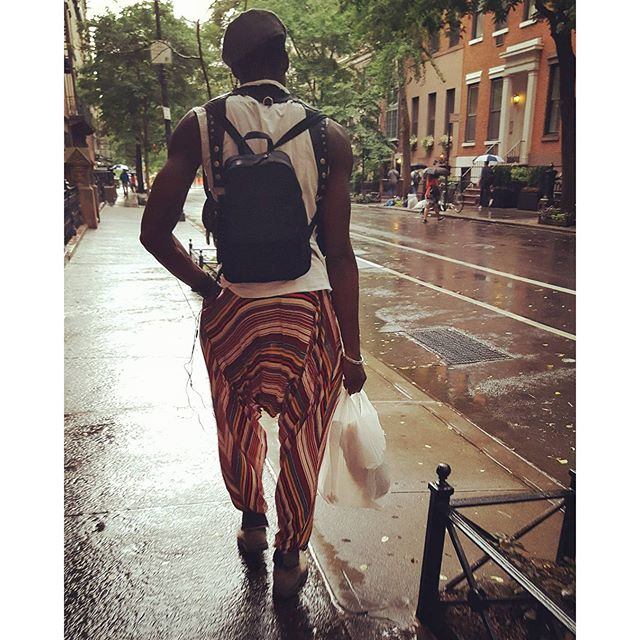 Stop....Hammer Time !  #nyc #pants #streetphotography #newyork #greenwichvillage #fashion #heworewhat