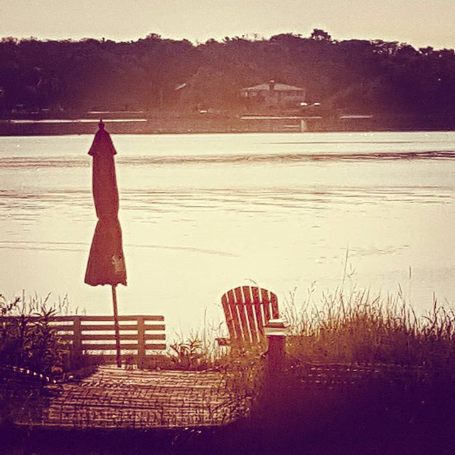 Morning Light Over Tiana Bay #hamptons #hamptonbays #tianabay #beautiful #beach #longisland #morninglight