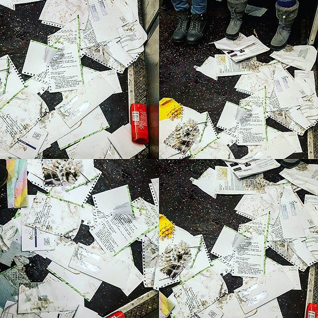 Mail #someonehadabadday #oldspice #chaos