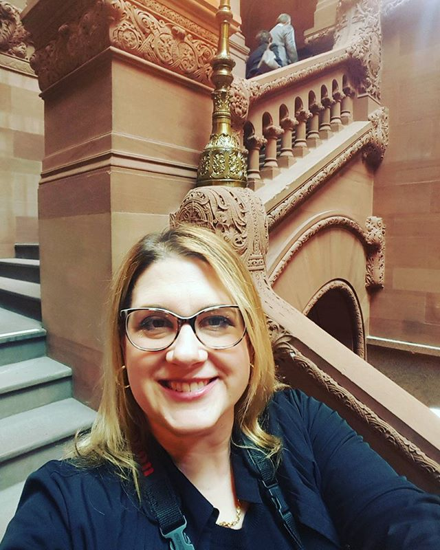 Ms.Kawka Goes To Albany #corporateeventphotographer #newyorkstate #newyorkstatecapitol #albany