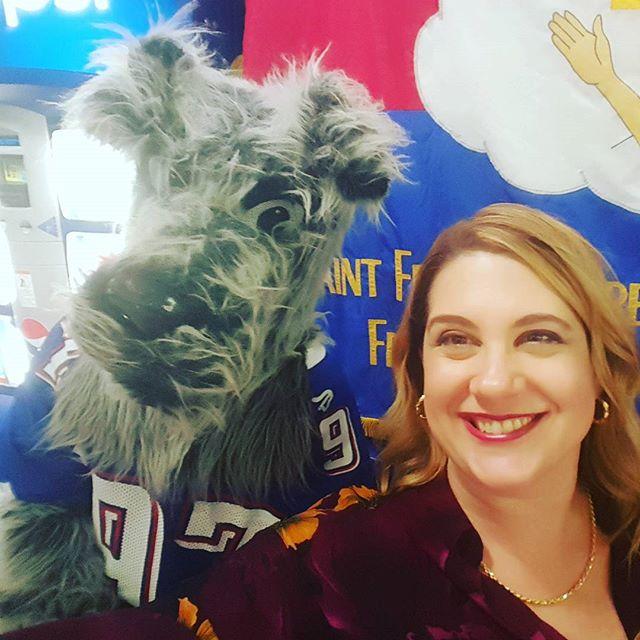When You Take A #Selfie With The Terrier #sfp4ever #saintfrancisprep #alumni #fun #schoolspirit #likecominghome